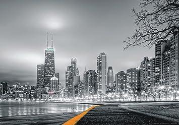 xxl poster fototapete tapete new york skyline nyc foto 160 cm x 115 cm grau