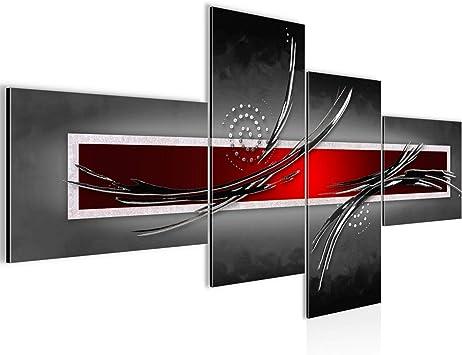 Bild Xxl Abstrakt 200 X 100 Cm Kunstdruck Vlies Leinwandbild Wanddekoration Wohnzimmer Schlafzimmer 102541a Amazon De Kuche Haushalt