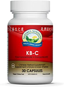 Nature's Sunshine KB-C Chinese TCM Concentrate, 30 Capsules