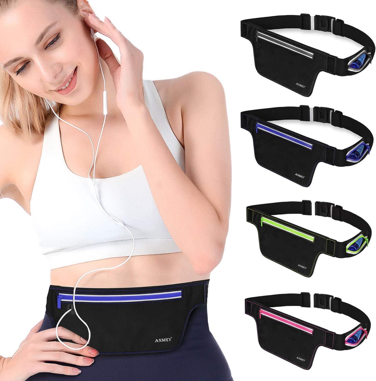 Sports Waist Belt Phone Holder Bum Bag Running Gym Exercise Waist Band Pack