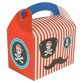 García de Pou 194.98 Cajas Infantiles Pirata 320 G/M2, 17 x 16 x