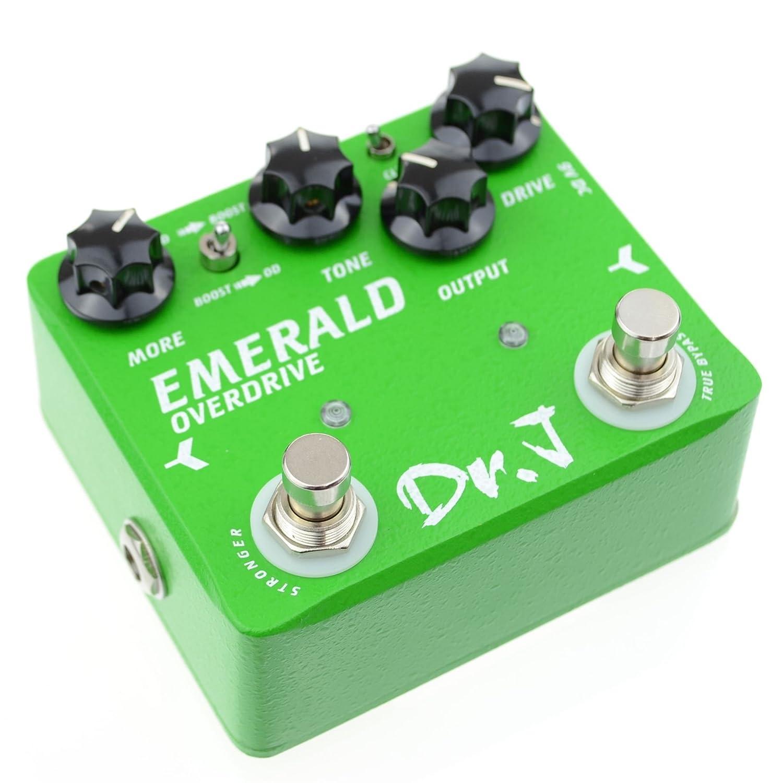 DR.J D50 Green-Crystal Gitarreneffektgerät D-50