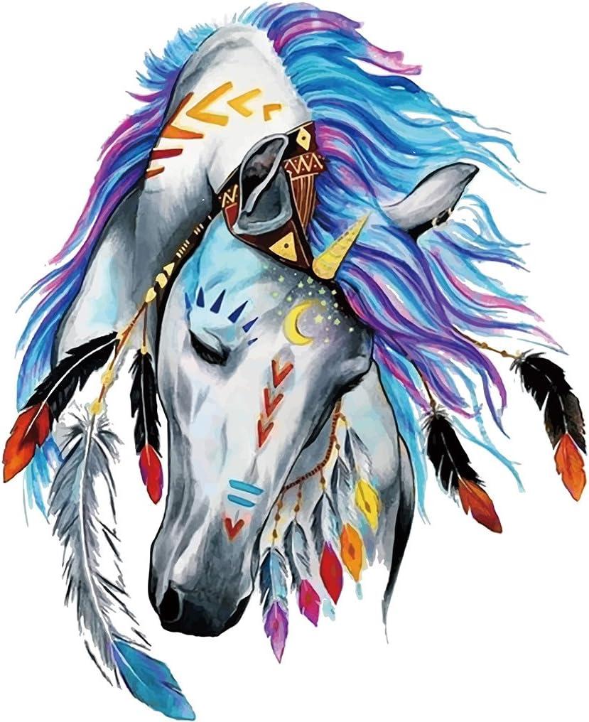 Hergon - Parches de caballo para ropa de niños, pegatinas de bricolaje, parche para planchar, para bolsos, sombreros, pantalones vaqueros, decoración de apliques, 89#