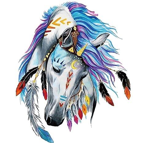 Hergon - Parches de caballo para ropa de niños, pegatinas de ...