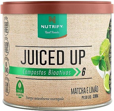 Juiced Up - 200G Matcha e Limão - Nutrify, Nutrify