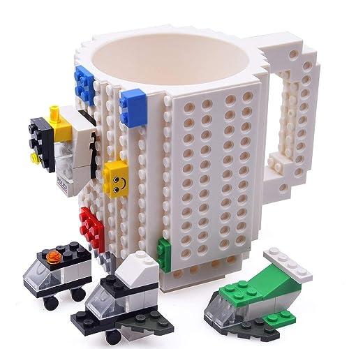 KYONNE Build On Brick Mug Birthday Gift Cup Best Ideas For Men