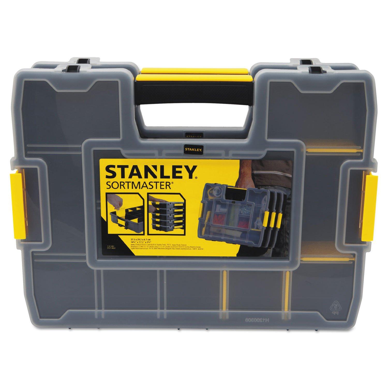 Stanley Hand Tools STST14022 11-1/2'' X 14-3/4 Plastic Lock Jaw Utility Box