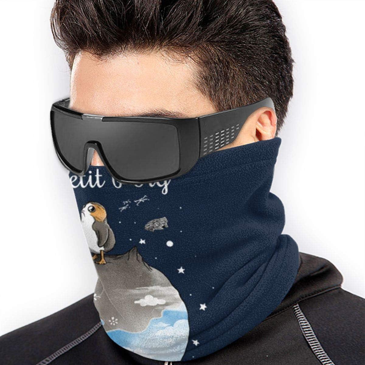 Le Petit Porg Men Women Windproof Novelty Neck Warmer Scarf Headband For Cycling Ski Fishing
