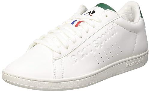 58ce1ff7a1 Le Coq Sportif Courtset Optical White/Evergreen, Sneaker Unisex ...