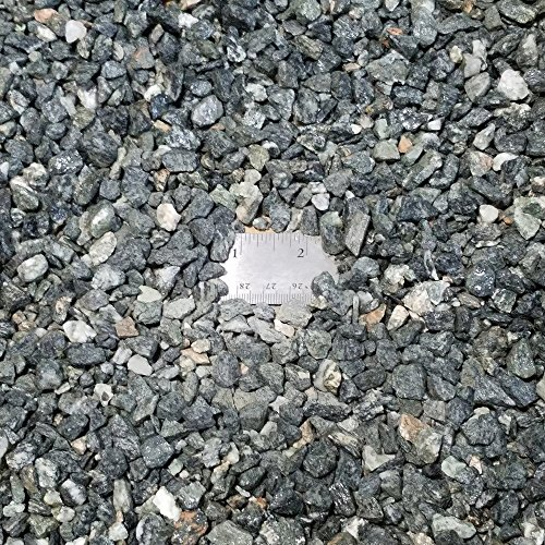 Eves Gray Granite Gravel  Total Weight Approximately 5 Pounds  Average Size 3 8