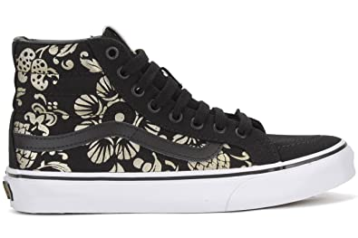 vans sk8 hi slim black amazon