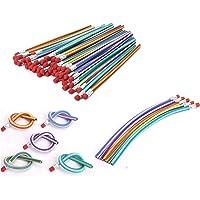 AHG 30 Pcs Soft Flexible Bendy Pencils Magic Bend Kids Children School Fun Equipmen