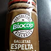 Galletas de Espelta con Chips de Chocolate Biocop, 250 g