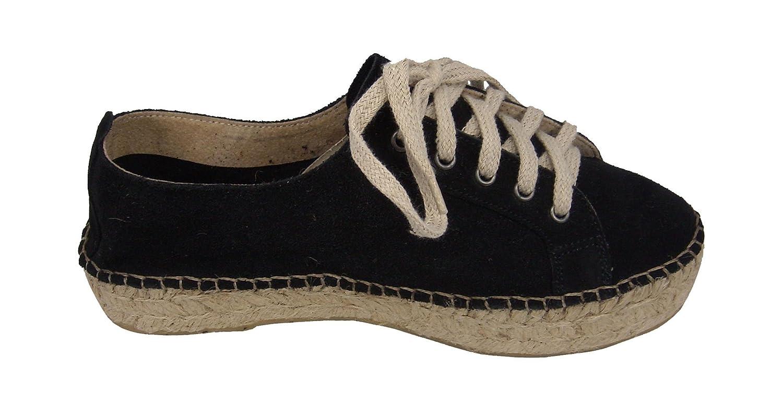 Alpargatus , 35 Damen Espadrilles schwarz schwarz 35 , 75a323
