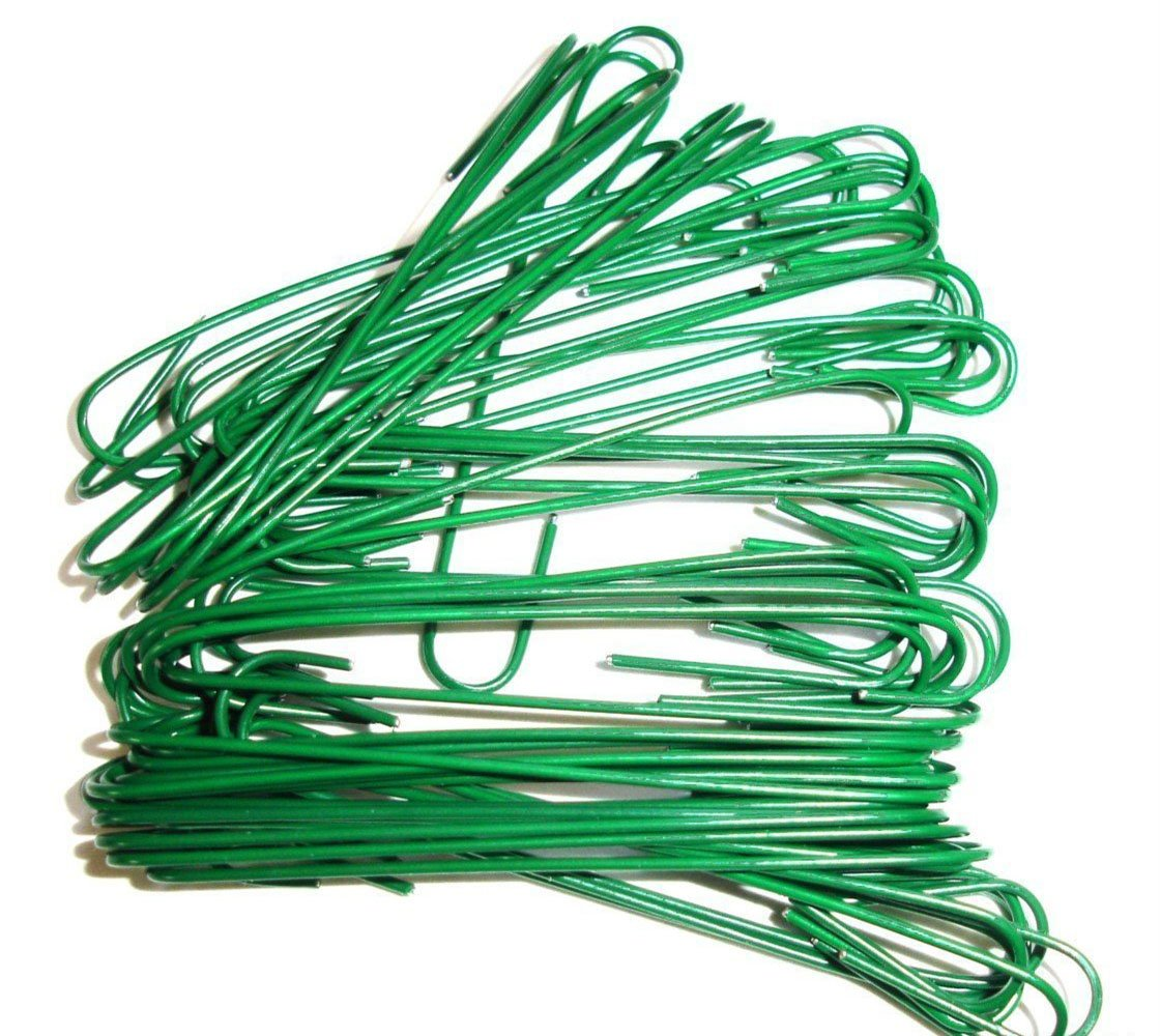 Ornament Hooks, Christmas Tree Decorating Hangers, Metal Wire for Christmas Tree Decoration Hanging, Green, 200 Piece