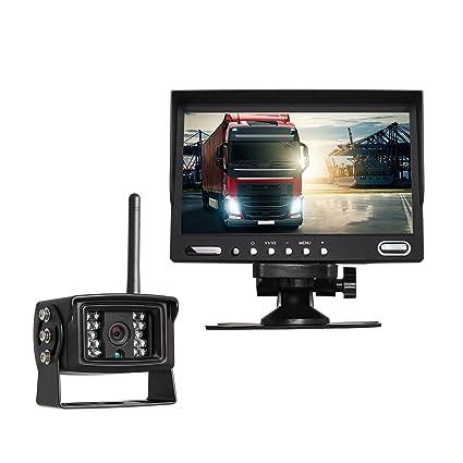 Amazon.com: Auto-Vox Digital Wireless Backup Camera System with 7 ...