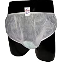 PADDED PANTY Disposable Panty Liners, Pack Of 12 (XL, White)