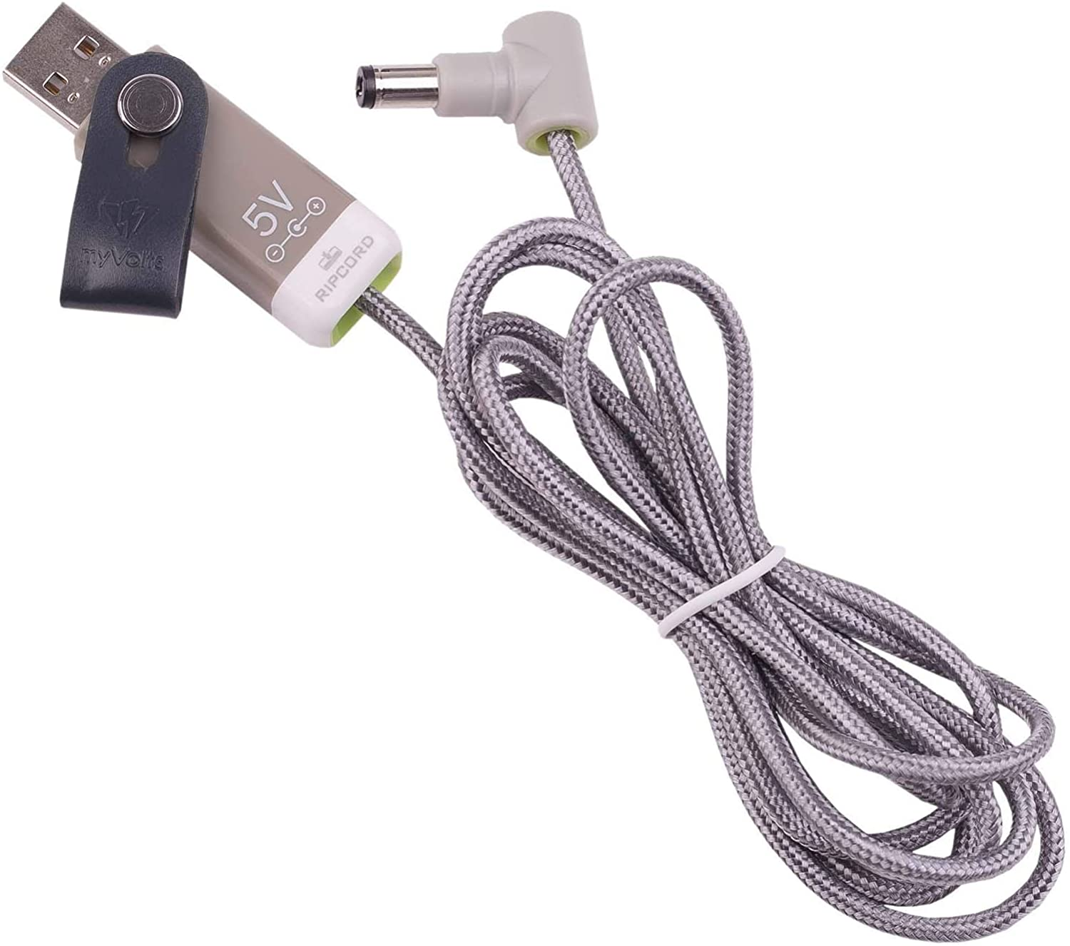 myVolts Ripcord - USB to 5V DC Power Cable Compatible with The Buffalo WHR-HP-G54 Router