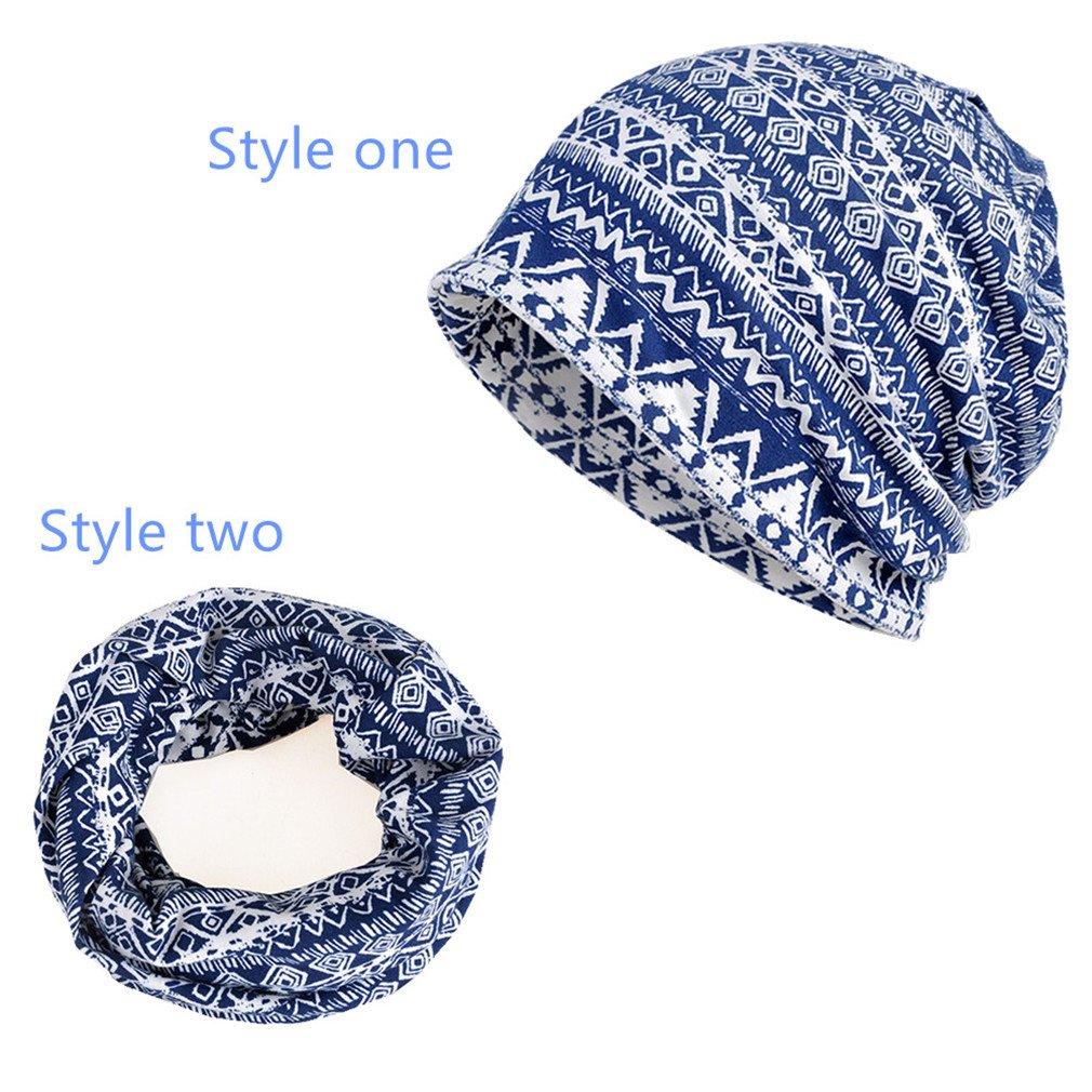 Erin's Town APPAREL レディース B075YBDXYL M|blue geometric blue geometric M