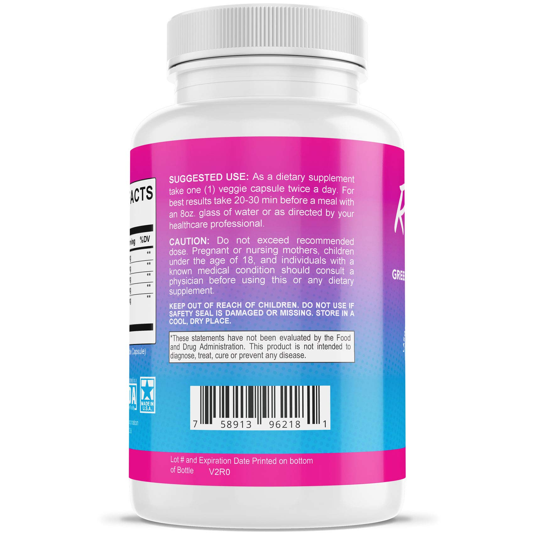 Rapid Tone Weight Loss Pills Supplement - Burn Fat Quicker - Carb Blocker, Appetite Suppressant, Fat Burner - Natural Thermogenic Extreme Diet Fast WeightLoss for Women Men (5 Month Supply) by Rapid Tone (Image #1)