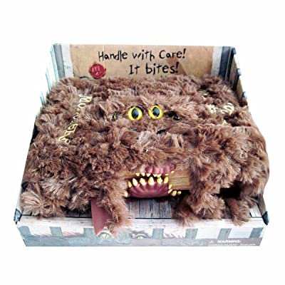 universal studios harry potter monster book of monsters plush new with tags: Toys & Games