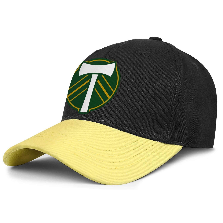 Adjustable Cowboy Hat Outdoor Baseball Cap Snapback Hat Football Hats LiJiCai Unisex Portland-Cool-Timbers-Logo