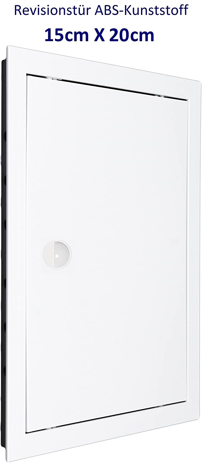 Inspection Door Inspection Flap. Access Panel. White High Quality ABS Plastic. Sizes Available. 6'' x 6'' (150mm x 150mm) MM TECHNIK
