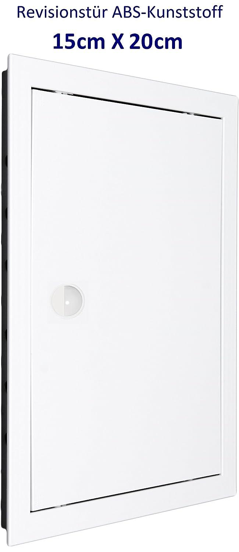 Puerta de inspecció n, compuerta de revisió n, plá stico ABS de alta calidad en color blanco - MM TECHNIK
