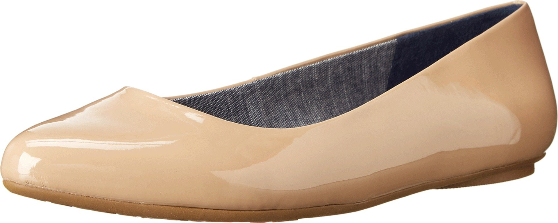Dr. Scholl's Women's Sand Patent Flat  Shoes - 9 C/D US