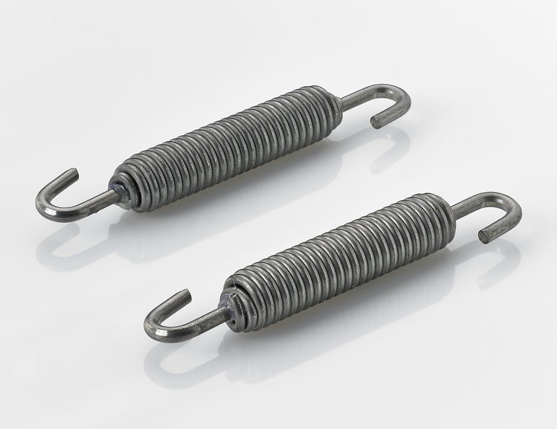 Stainless Steel Exhaust Springs 80 mm –  Pack of 4 Berning Schrauben