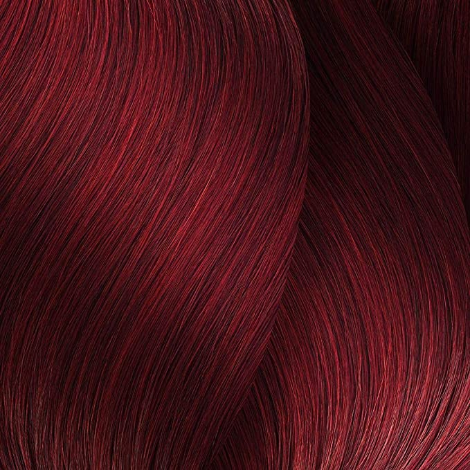 L´Oréal Majirouge 6,66 Rubio Oscuro Coloración Intensa Rojo oscuro, Teñido Permanente, 50 ml