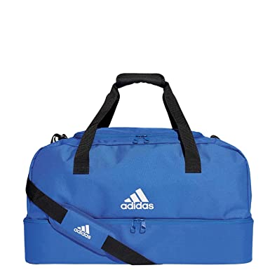 52cd7d7ee9 Adidas Unisex Child Tiro Du Bc M Sports Bag - Bold Blue White