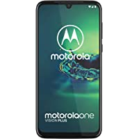 Motorola One Vision Plus, 4GB RAM, 128GB ROM, Dual SIM - Cosmic Blue - 1 Year Brand Warranty