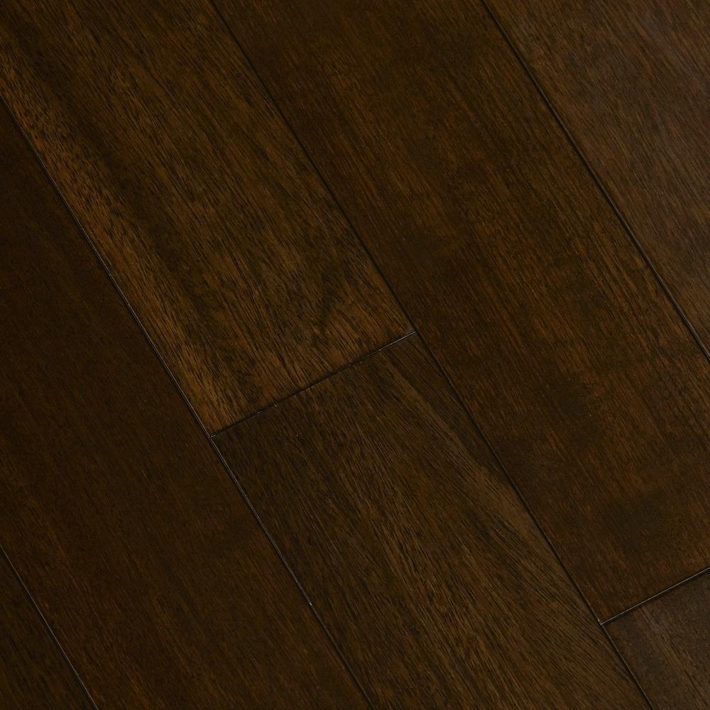 Home Legend Jatoba Walnut Graphite 3/8 in. T x 5 in. W x Varying Length Click Lock Exotic Hardwood Flooring (26.25 sq. f