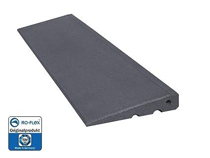 RO-FLEX - Rampa de Fibra de Caucho (45 mm, Efecto Piedra)