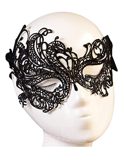 VANTOO Venetian Masquerade Mask Women Lace For Halloween Costume Party Ball Prom Cat Eye
