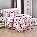 Teen Girls 8 Piece FULL Size PINK PARIS Chic EIFFEL TOWER Parisian Theme French Poodles Comforter & Sheet Set