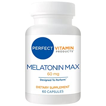 High Dosage Melatonin 60mg,Melatonin Max Ensures an Ample Supply of This Important Hormone,