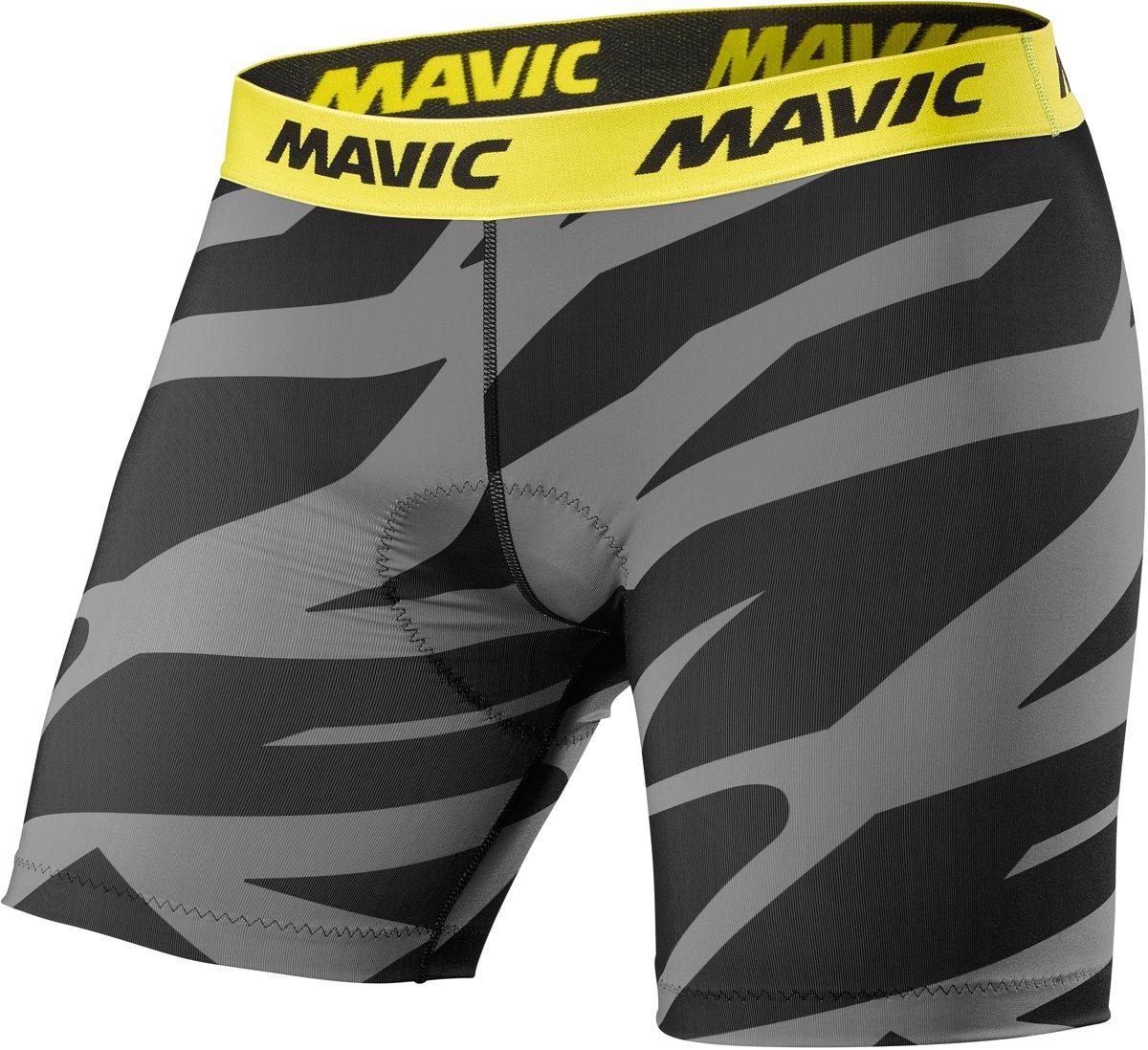 Mavic Deemax Pro Fahrrad Innenhose kurz grau schwarz 2019