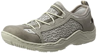 Genieße den niedrigsten Preis unverwechselbares Design reich und großartig Rieker Damen L0571 Sneaker