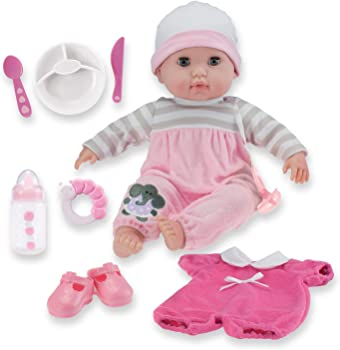 JC Toys Realistic And Detailed Body Baby Doll