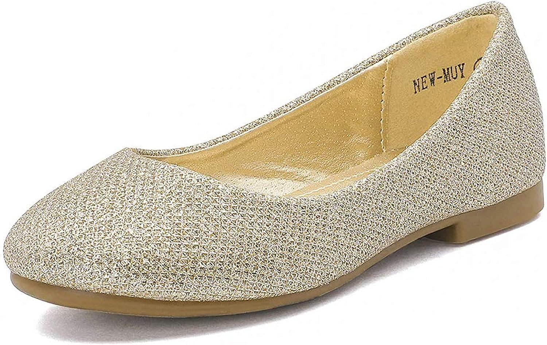 DREAM PAIRS Muy Girls Dress Shoes Slip