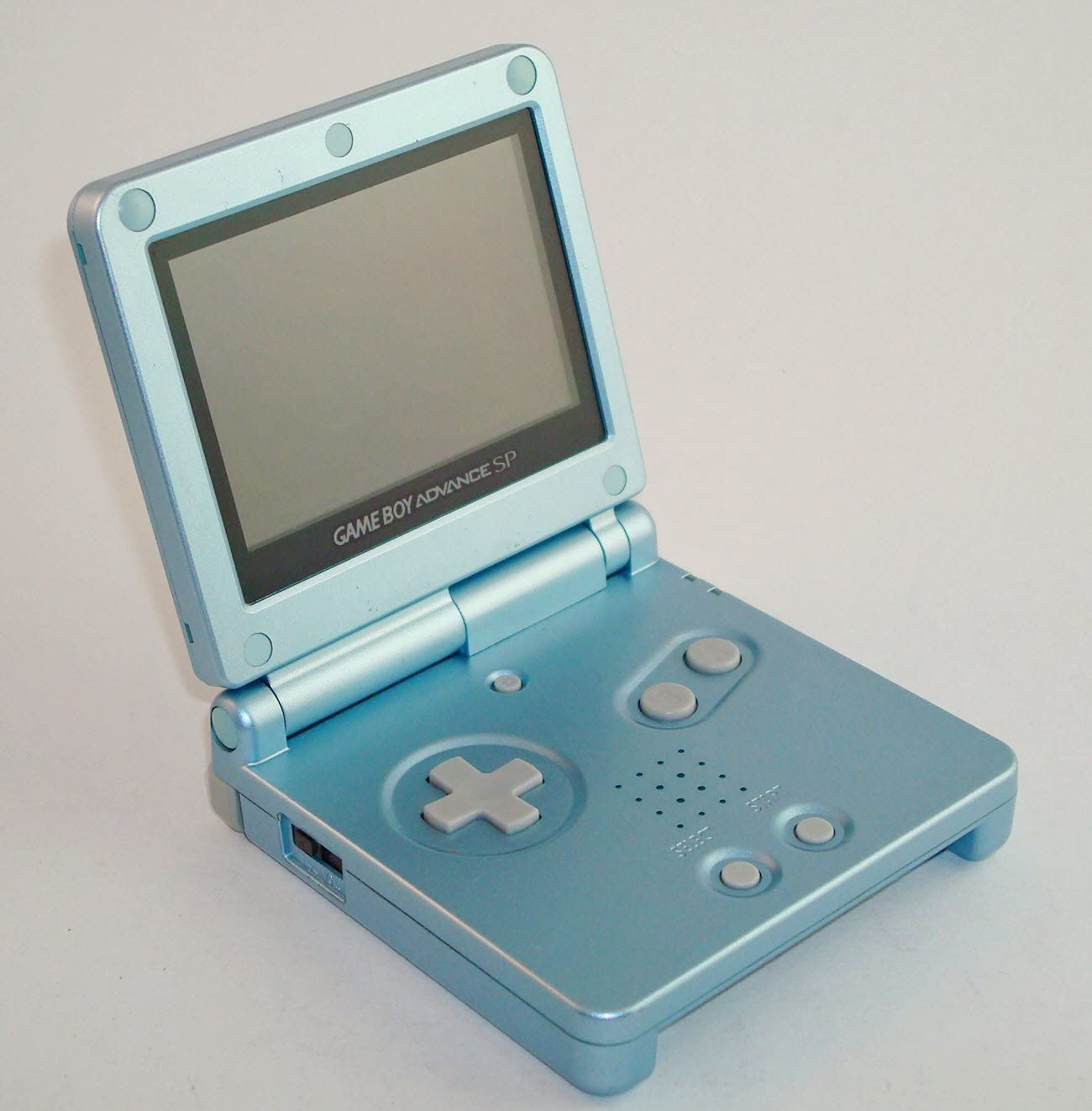 Amazon.com: Game Boy Advance SP Pearl Blue [Game Boy Advance ...