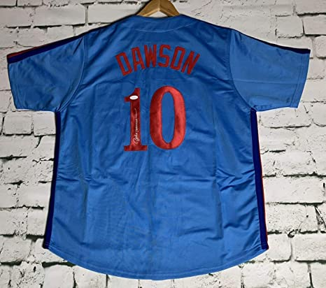 meet 49955 0072c Andre Dawson Signed Autographed Montreal Expos Throwback ...