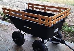Amazon Com Gorilla Carts Gor866d Heavy Duty Garden Poly