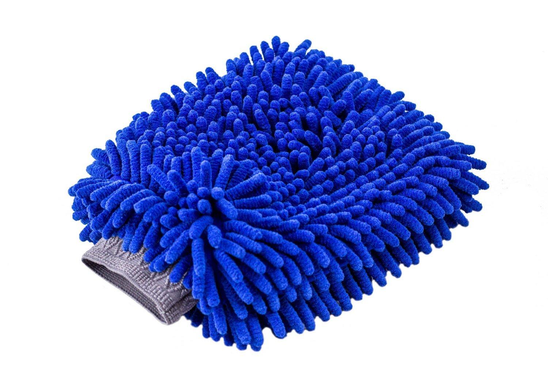 Ultimate Car Wash Mitt - 2 Pack - Premium Chenille Microfiber Wash Mitt - Wash Glove - Lint Free - Scratch Free - Regular Size Relentless Drive