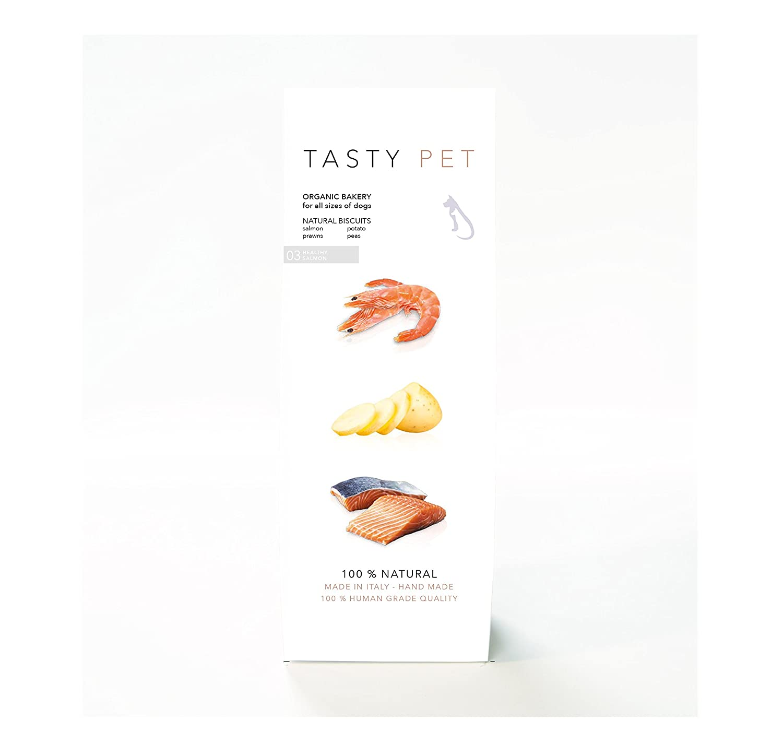 TastyPet 03 - Healthy Salmon Biscuits (Res, 200 gr.): Amazon.es: Productos para mascotas