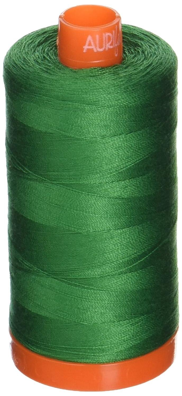 Aurifil A1050-2870 Solid 50W 1422 yd Green Mako Cotton Thread Aurifil USA