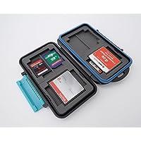 Ares Foto® MC-2 Speicherkarten Schutzbox / Memory Card Case / Card Safe / für 8 Stück SD Karten und 4 Stück Compact Flash Karten (CF Cards)- New Edition 2017