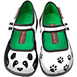 Hot Chocolate Design Mini Chocolaticas Panda Girls Mary Jane Flat